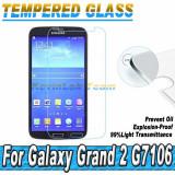 Samsung Grand 2 - Folie Sticla Securizata Tempered Glass 0.3m 9H - Folie de protectie Samsung, Lucioasa