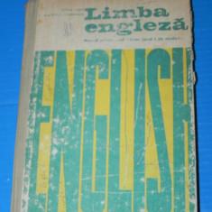 MANUAL LIMBA ENGLEZA - CLASA A IX-A ANUL I DE STUDIU 1976 - CORINA COJAN - Curs Limba Engleza