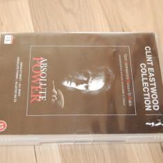 DVD ORIGINAL ABSOLUTE POWER 1996 CU CLINT EASTWOOD GENE HACKMAN ED HARRIS - Film thriller warner bros. pictures, Engleza
