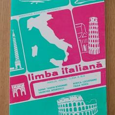 LIMBA ITALIANA, MANUAL PENTRU CLASA A IX-A- ILEANA TANASESCU BOGDANET - Curs Limba Italiana