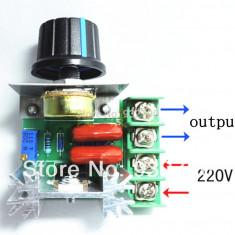 SCR Regulator voltaj 2000W AC220V - Potentiometru