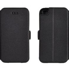 Husa Samsung Galaxy Grand Neo i9060 i9080 Flip Case Inchidere Magnetica Black, Negru, Piele Ecologica, Toc, Cu clapeta