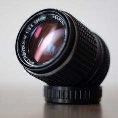 Obiectiv foto 135mm SMC Pentax-M in Pentax K DSLR Canon/Nikon, Sony NEX - Obiectiv DSLR Pentax, Tele, Manual focus