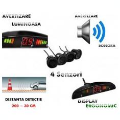 Senzori de parcare cu 4 senzori si afisaj