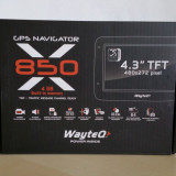 GPS Navigator WayteQ X850