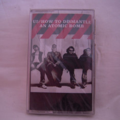 Vand caseta audio U2-How To Dismantle An Atomic Bomb, originala, raritate - Muzica Rock universal records, Casete audio