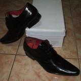 Pantofi barbati, Piele naturala - Pantofi piele ( m 43 )