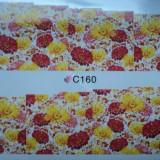 Tatuaj transfer pe baza de apa sticker pentru decorare unghii Full Tip C 160 - Unghii modele