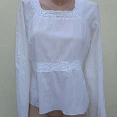 Bluza dama, Maneca lunga, Universala, In - Bluza alba gen ie