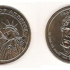 Monede Straine, America de Nord, An: 2013 - SUA USA 1 DOLAR DOLLAR 2010 COMEMORATIV