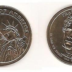 SUA USA 1 DOLAR DOLLAR 2010 COMEMORATIV, America de Nord, An: 2013