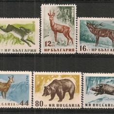 Bulgaria.1958 Animale salbatice PF.6 - Timbre straine, Nestampilat