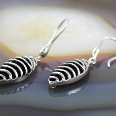 Cercei argint - Cercei Lungi din Argint 925, cod 515