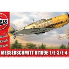 Kit constructie si pictura avion Messerschmitt Bf109E-1/E-3/E-4 - Jocuri Seturi constructie Airfix