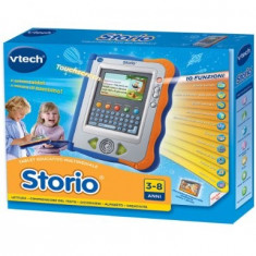 Joc educativ electronic VTech albastru cu joc inclus, limba italiana, Hasbro A1109103 - B008DVT7D4 - Jocuri Logica si inteligenta