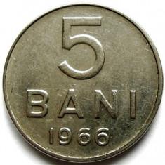 ROMANIA, 5 BANI 1966 - Moneda Romania, Crom