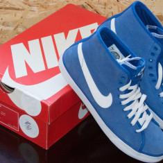 Adidasi barbati Nike, Piele naturala - Adidasi tenisi pantofi sport NIKE Primo ORIGINALI masura 42 poze reale