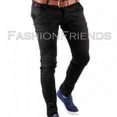 Pantaloni POLO RALPH LAUREN negru -pantaloni barbati -pantaloni casual- 5507