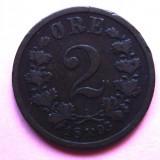 NORVEGIA 2 ORE 1893, Europa, An: 1893