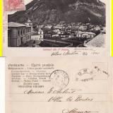 Carti Postale Romania pana la 1904, Circulata, Printata - Salutari din Piatra Neamt -clasica, rara