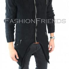 Palton tip ZARA negru - palton barbati - palton slim fit - STOC LIMITAT 5499
