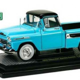 Macheta auto camioneta Chevrolet Apache Cameo 1958, scara 1:24