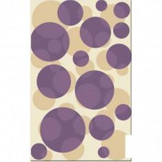 Faianta decorativa Girotondo violet - 25 x 40 cm