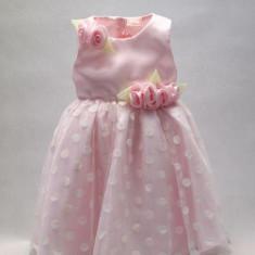 Rochita eleganta cu pentru fetite - BBN2044