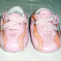 Adidasi copii, Fete, Piele sintetica - Adidasi fetite foarte draguti Disney marimea 17