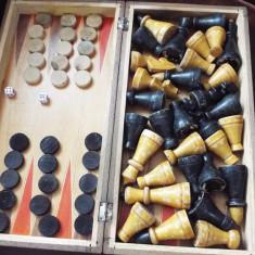 Joc sah table, piese vechi - Table sah