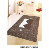 Covor poliester MHC-2707-2 BROWN - 140 x 200 cm