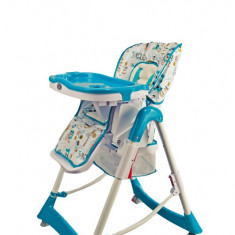 Balansoar interior - BabyGo – BGO-5503 Scaun de masa Jungle Blue