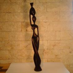 Arta din Lemn - Statueta Hand-Made Lemn Eben(Abanos)