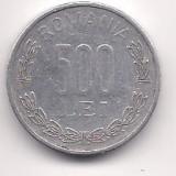 No(4) moneda- ROMANIA- 500 Lei 1999, An: 1944
