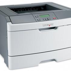 IMPRIMANTA LASER LEXMARK E460DN, DUPLEX AUTOMAT+RETEA, GARANTIE . CALITATE - Imprimanta laser alb negru Lexmark, DPI: 1200