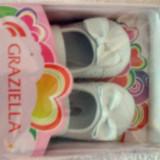 Pantofi fetite eleganti marimea 18 (6 - 12 luni) Graziella