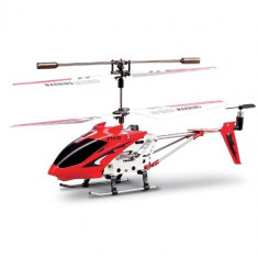 Elicopter de jucarie - Mini elicopter cu telecomanda, rosu Syma