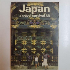 Carte Geografie - JAPAN A TRAVEL SURVIVAL KIT de IAN MCQUEEN, 1986