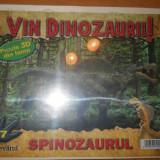 Colectii - VIN DINOZAURII - PUZZLE 3D LEMN - SPINOZAURUL ( NR 7 )