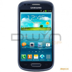 Telefon mobil Samsung Galaxy S3 Mini - Samsung Telefon mobil Samsung I8200 Galaxy S3 Mini Value Edition, 8GB, Blue