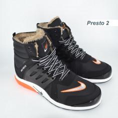 Bocanci barbati Nike, Piele sintetica - Bocanci Nike Presto-inblanit