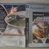 Star Wars - Starfighter PLATINUM - PS2 Playstation  ( GameLand  )