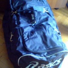 Troller - Troler/geanta/valiza pe roti Asics H92XL50Xl42cm/180litri -original- IN STOC