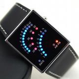 Ceas led - Ceas binar Fanlike cu LED Algoritm