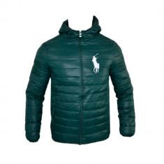 Geaca Barbati Ralph Lauren, Model Casual Sport Verde Cod Produs D341, Marime: XL, XXL, Microfibra
