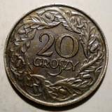 7.586 POLONIA 20 GROSZY 1923, Europa, An: 1923
