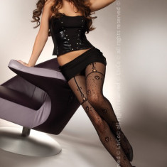 Livia Corsetti 219-1 Ciorapi sexy cu model din plasa - Sosete dama LIVIA CORSETTI, Marime: Marime universala