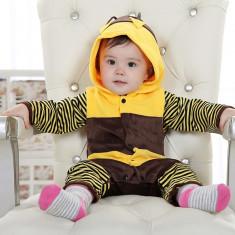 CLD67 Salopeta albinuta pentru copii - Costum copii