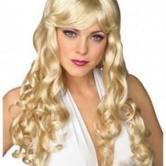Peruca Dama - PER20 Peruca blonda cu bucle