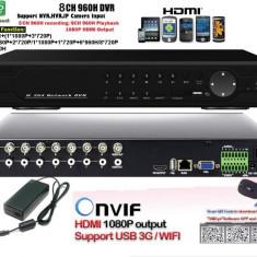 DVR hybrid 8 canale full 960H 9008HAVL